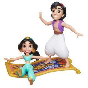Disney Princess Jasmine and Ali Poseable Doll